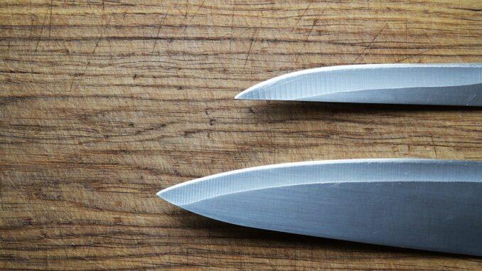 scharfe Küchenmesser